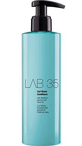 Kallos Lab35 Curl Mania - Acondicionador para cabello rizado y ondulado, 250 ml