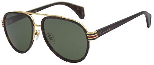 Gucci GG0447S Sonnenbrille Mann Braun