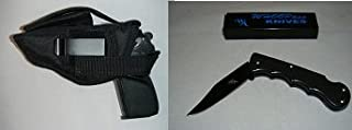 Hi Point 45 Gun Hip Holster, New, Hunting, Law Inforcement, Security Target 302B, Comes with a Free Folding Knife