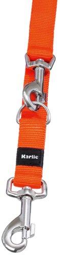 Karlie Art Sportiv Plus Führleine neue universal Farben Mix and Match L: 250 cm B: 10 mm XS orange