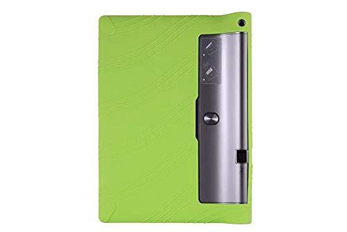 Funda de Silicona Suave Yoga Tab 3 Plus para Lenovo Yoga Tab3 Plus Funda de Tableta para Yoga 10 Pro X90 / x90F / X90M / X90L Funda Suave-Verde