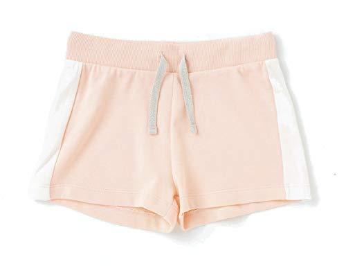 TEX - Pantalón Corto de Deporte para Niña, Coral Claro, 9-10 años