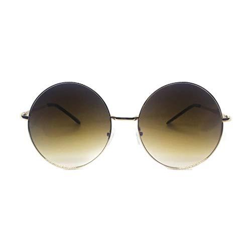 The Eye Candy Factory Bare Essentials Collection - Gafas de sol polarizadas para mujer, color marrón