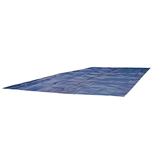 Premium Wärmeplane 549x274 Solarfolie Poolpanda Solarplane für Pool Solarheizung 400my Poolheizung schwarz blau 400micron (549 x 274 cm)