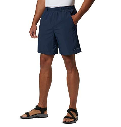 Columbia Homme Short de Randonnée pour eau, BACKCAST III WATER SHORT, Nylon, Bleu Marine (Collegiate Navy), Taille: XXL, FM4009