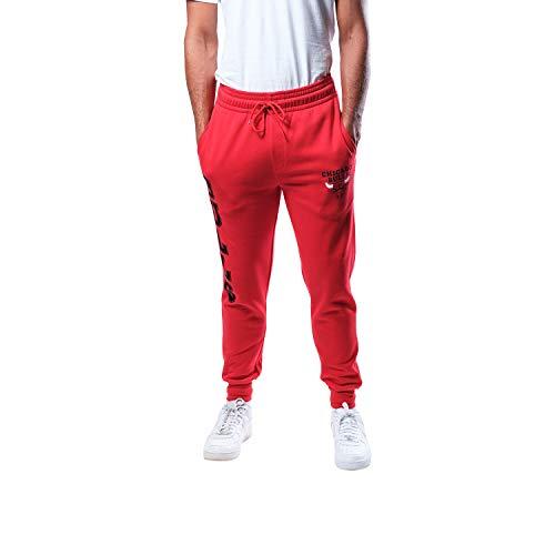 UNK NBA Herren Jogginghose Vsf5166m-Am NBA Active Basic French Terry, Herren, VSF5166M-AM, rot, m