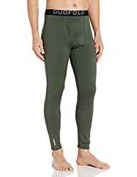 Duofold Mens Mid Weight Fleece Lined Thermal Pant