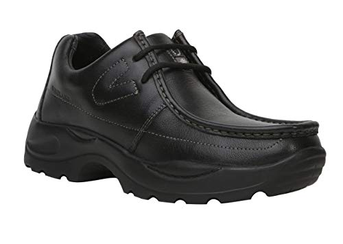 Woodland G 4035Y15 Men Black Leather Casual Shoes