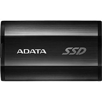 ADATA SE800 1TB IP68 Rugged - Up to 1000 MB/s- SuperSpeed USB 3.2 Gen 2 USB-C External Portable SSD Black (ASE800-1TU32G2-CBK)