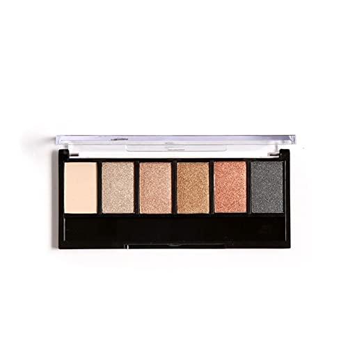 Palettes de fards à paupières, 6 couleurs de palettes de fards à paupières cosmétiques mates pour un maquillage des yeux smokey durable pour un usage domestique et un salon de beauté(6#)