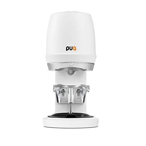 PUQpress Gen 5 Mini Precision Automatic Coffee Tamper (Matte White)