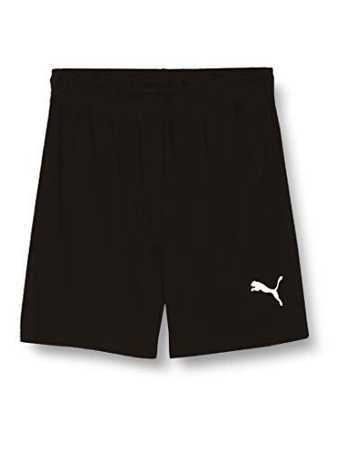 PUMA Kinder Liga Training Shorts Core Jr Hose, schwarz(Puma Black / Puma White), 164