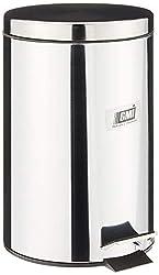 GMI 173-12 Stainless Steel Dustbin, 12L