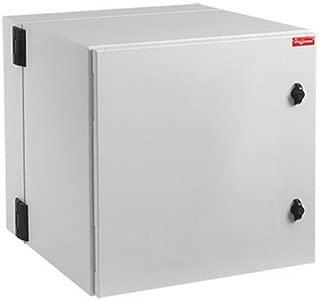 Hoffman PTHS242415G4 PROTEK Double Hinged Cabinets, Solid Door, Type 4, Gray