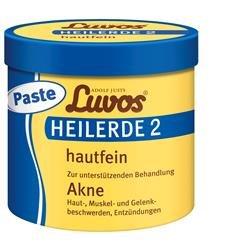 Luvos Heilerde 2 hautfein Paste Spar-Set 2x720g. Zur unterstützenden Behandlung bei Akne, Haut-, Muskel- und Gelenkbeschwerden sowie Entzündungen.
