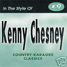 KENNY CHESNEY Country Karaoke Classics CDG Music CD
