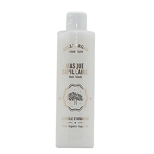 Label Provence – Máscara francesa para el cabello con aceite de argán orgánico – Sin parabenos EDTA y sin silicona – 250 ml