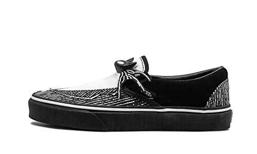 Vans Slip-on(tm) Core Classics Sneaker, Schwarz (Disney Jack/Nightmare), 39 EU