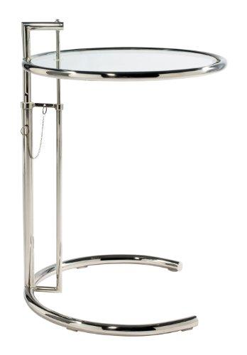 Eileen Gray Style Cocktailtisch, Chrom