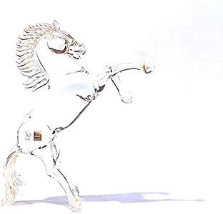 YourMurano, Escultura de caballo de cristal de Murano, estatua de cristal y oro para decoración del hogar, marca de origen, Arya