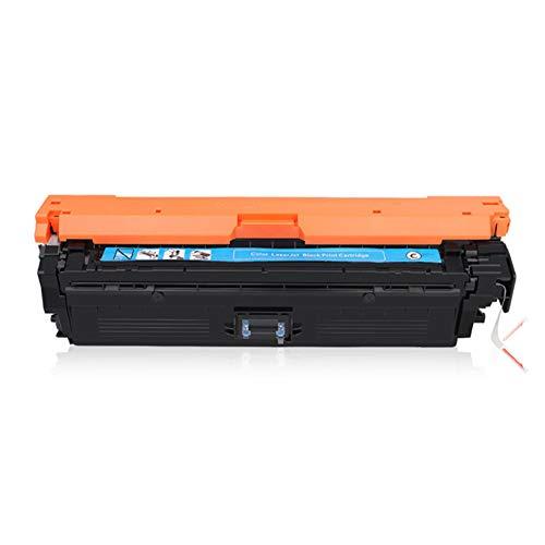 Cartucho de tóner compatible con HP CE740A CP5225DN 307A CP5225 5225, compatible con impresoras HP, estos cartuchos de repuesto funcionan muy bien y están a un mejor precio que los cartuchos HP., color azul size