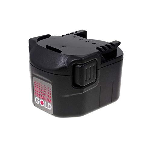 Powery Batería para AEG Atornillador BS 12C 2500mAh NiMH