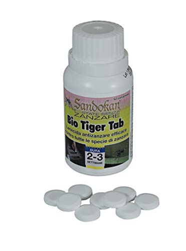 Sandokan Bio Tiger Tab Larvicida, Bianco