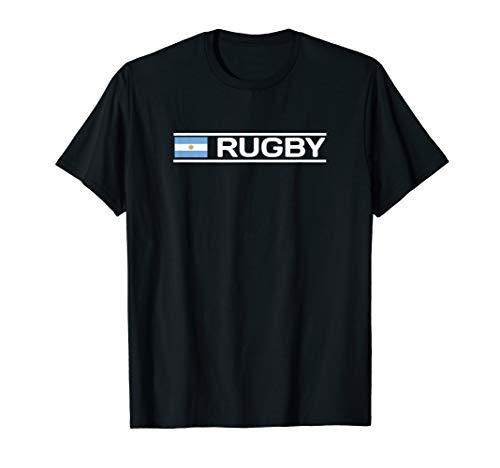 Argentina Flag Rugby T-Shirt T-Shirt