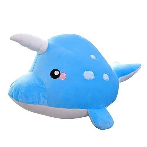 Regalos de cumpleaños suave del juguete 35cm de simulación Mar Animales rellenos de algodón de felpa juguetes lindo mar tiburón Animales almohada del sofá de felpa de la muchacha de los niños Hslywan