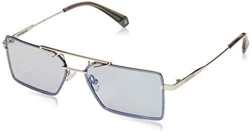 Polaroid PLD 6093/S Sunglasses, Grey, 56 Unisex-Adult