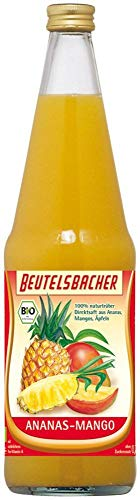 Beutelsbacher Bio Ananas-Mango-Saft (6 x 700 ml)