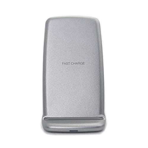 GWN Cargador inalámbrico Q720 Soporte Ultrafino para estándar Qi para Samsung para iPhone Dispositivo de Carga Conveniente para teléfono móvil