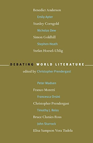Download Debating World Literature 1859844588