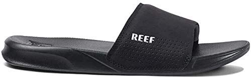 Reef Herren ONE Slide Schiebe-Sandalen, Black, 44 EU