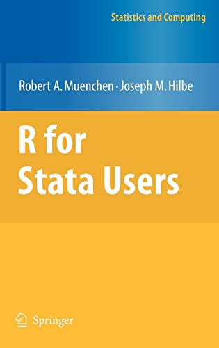R for Stata Users (Statistics and Computing) ~ TOP Books