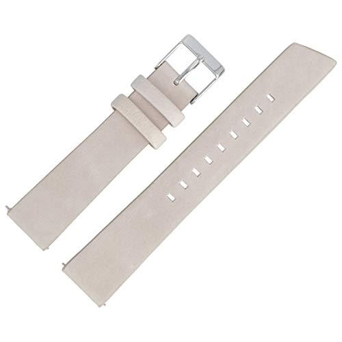 Liebeskind Berlin Uhrenarmband 18mm Leder Beige Glatt - 0232