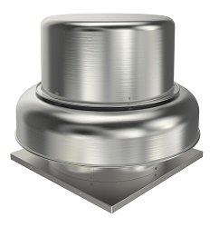 "Fantech 5BDD10BB-A Roof Fan, Belt Drive Downblast, 10"", 1/4 hp, 115/230V, 1 Ph, ODP"