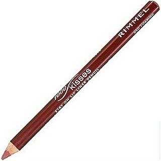 (6 Pack) RIMMEL LONDON Lasting Finish 1000 Kisses Stay On Lip Liner Pencil - Tiramisu