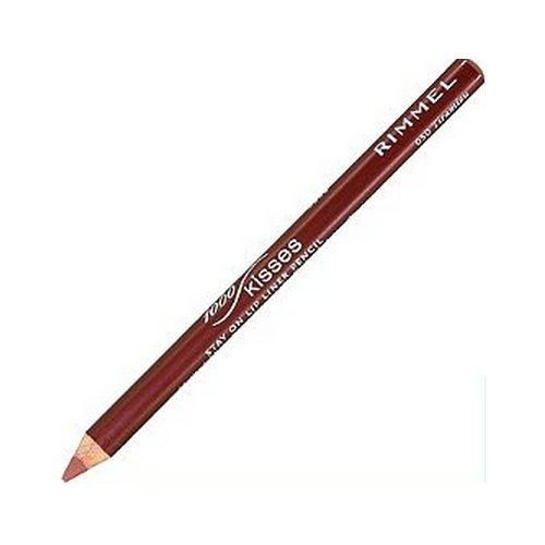 (3 Pack) RIMMEL LONDON Lasting Finish 1000 Kisses Stay On Lip Liner Pencil - Tiramisu
