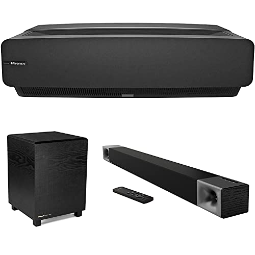 "Hisense 100"" L5 Series 4K UHD HDR Laser TV with Cinema 600 Soundbar System Bundle"