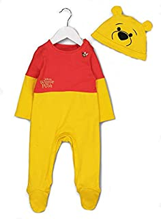 aa357cd7b Official Disney Baby Winnie the Pooh fancy dress Babies All in One Costume  6-9