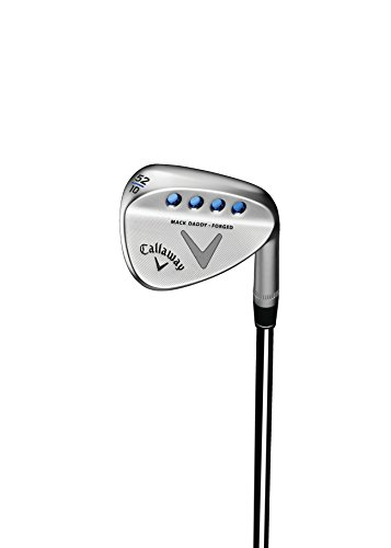 Callaway Golf Mack Daddy Forged Wedge Nickel Chrome with Copper Strike, Right Hand, Steel, 35
