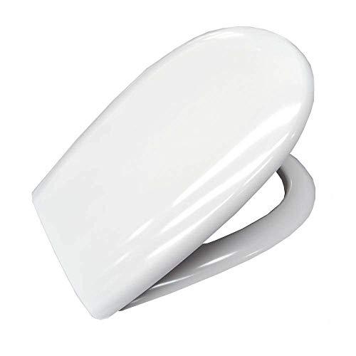 Sedile originale per wc GRACE Ceramica Globo in termoindurente avvolgente - GR019BI