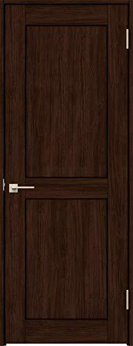 ラシッサS 標準ドア ASTH-LWA 錠付き 0920 W:868mm × H:2,023mm 吊元:右吊元 本体色/枠色:クリエダーク(DD) 枠種類:ノンケーシング115(壁厚:76-100) 沓摺:埋込沓摺(A枠) 把手:サークルB 鍵種類:丸型表