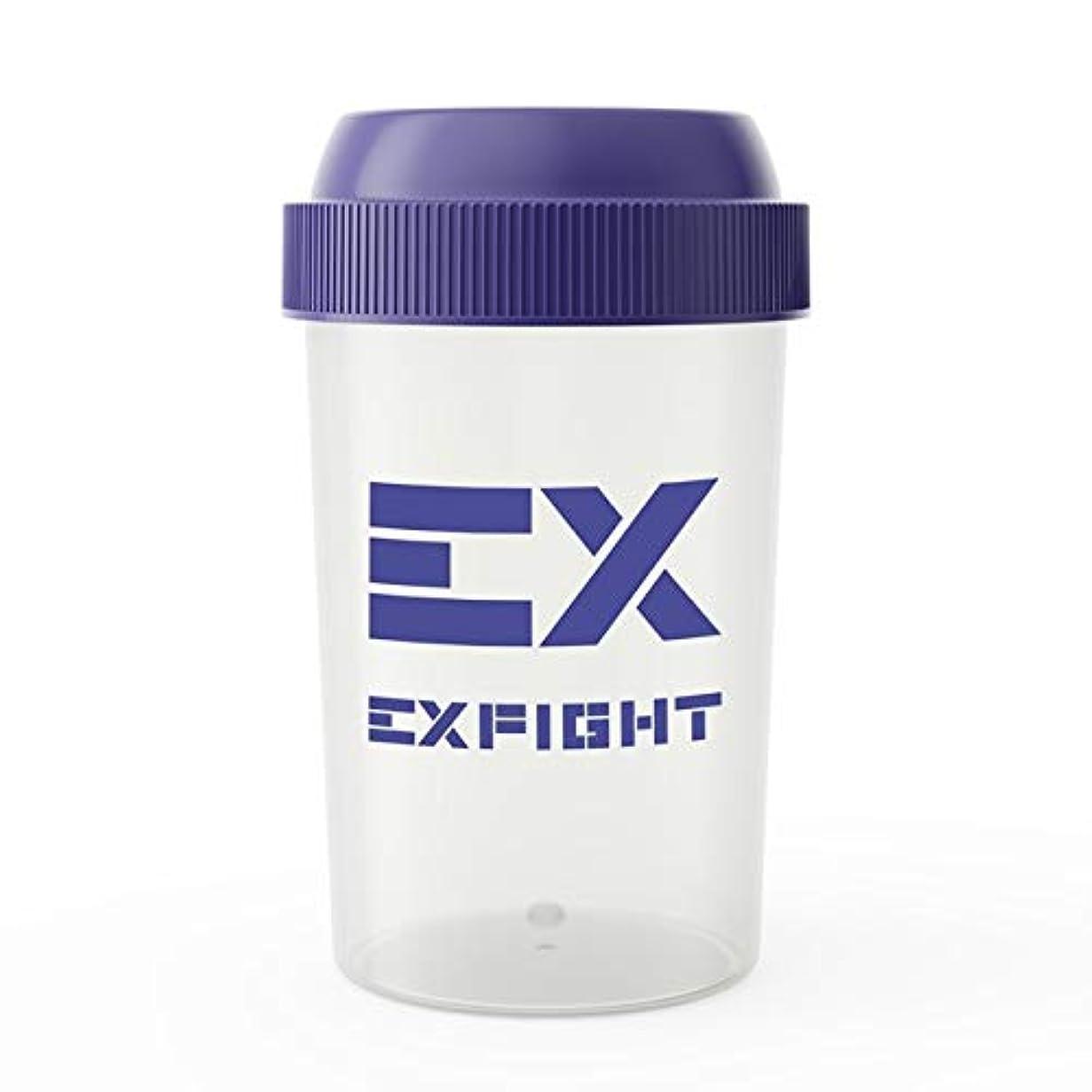 ヨーグルトスケジュールバラバラにするEX-SHAKER シェイカーボトル ブルー 300ml(エクスサプリ EXSUPPLI シェーカー EXILE サプリ)