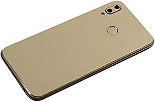Huawei P20 Lite,Nova 3e Deri Görünümlü Arka Kaplama Sticker KREM