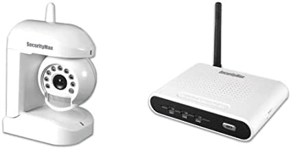 SecurityMan Motion/Audio Sensor Wireless (2.4GHz) Color Camera Kit with Night Vision (AVWATCH)