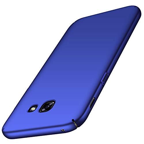 Avalri Cover Samsung A3 2017, Minimalista Design Ultra Sottile Case Rigida in PC Antiurto Anti-Graffio Custodia per Samsung Galaxy A3 2017 (Azzurro Liscio)