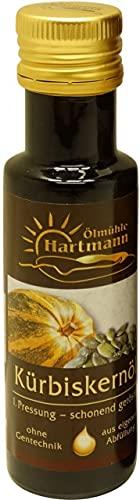 Ölmühle Hartmann GbR - Schwäbisches Kürbiskernöl, geröstet - 100 ml