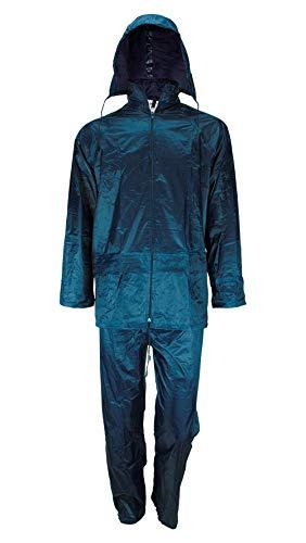 Galaxy Safety 5054Regenanzug mit Kapuze blau Large